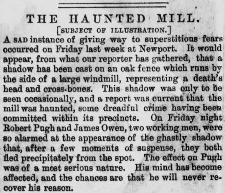 The haunted mill