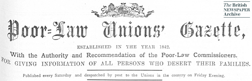 Poor Law Union Gazette