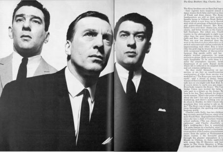 Kray twins portraits