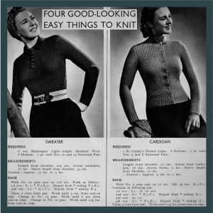Easy things to knit