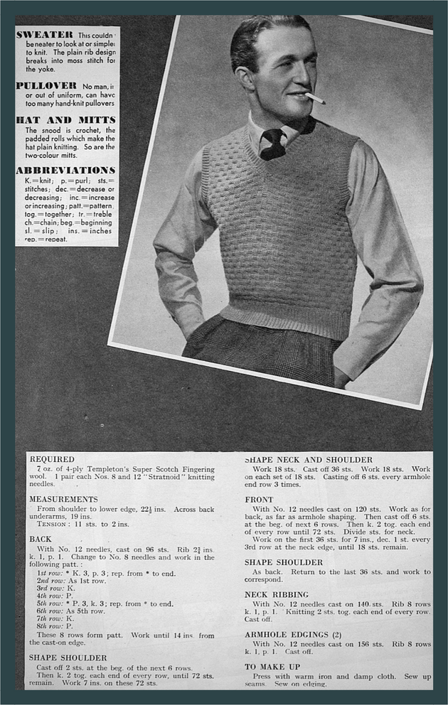 knitted menswear