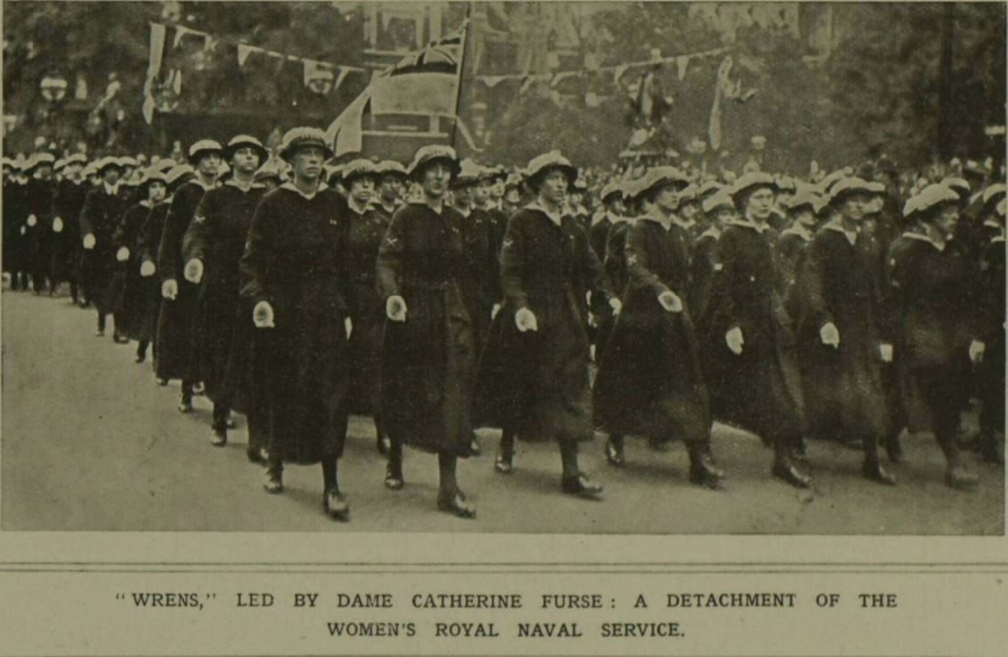 Women's Royal Naval Service 1919