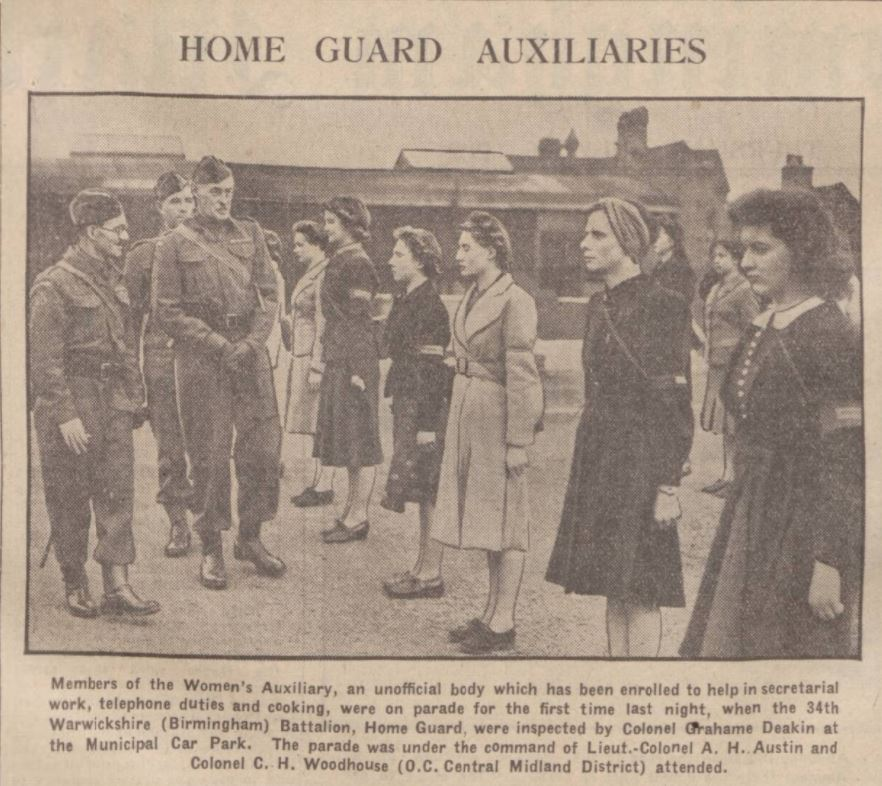 Home Guard Auxilaries