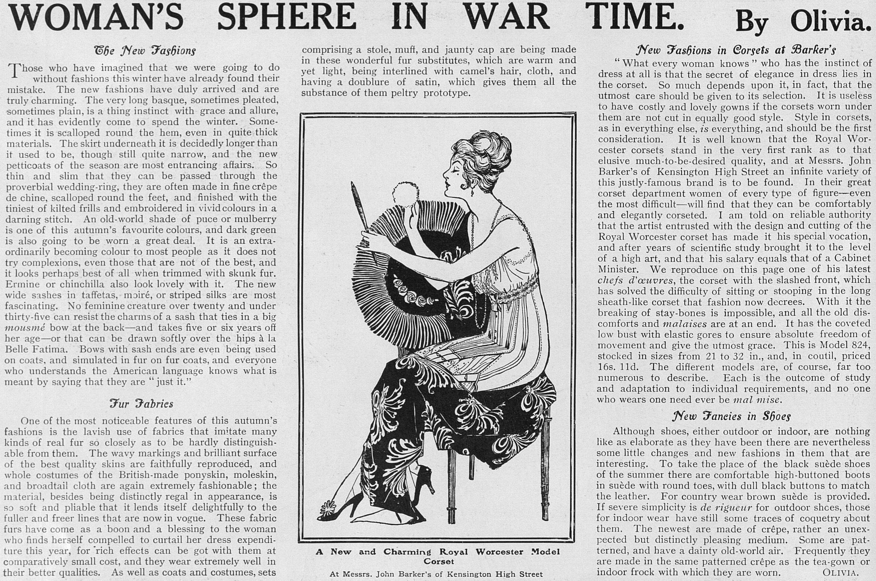 WomansSphereInWarTime_14Nov1914