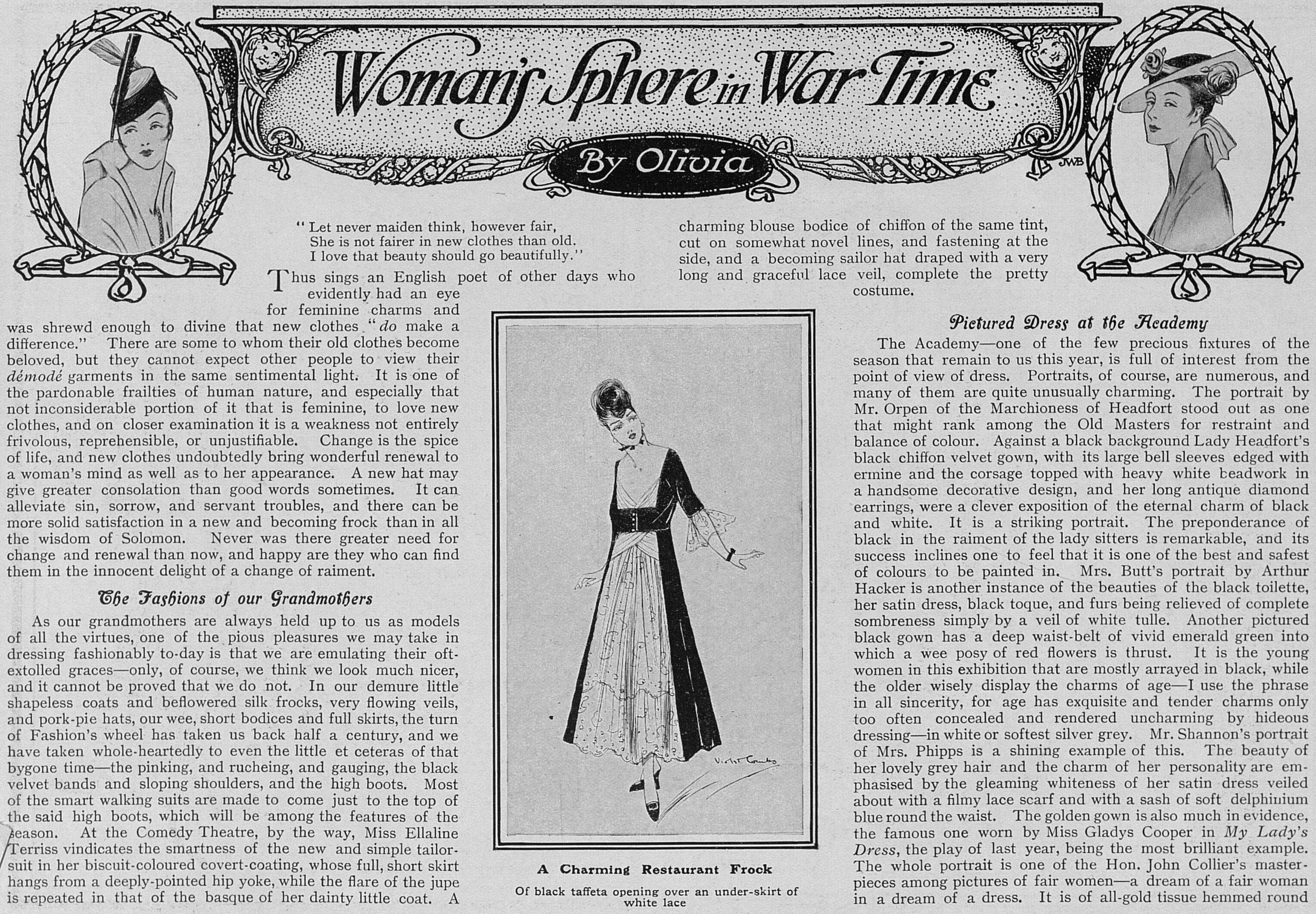 WomansSphereInWarTime_15May1915
