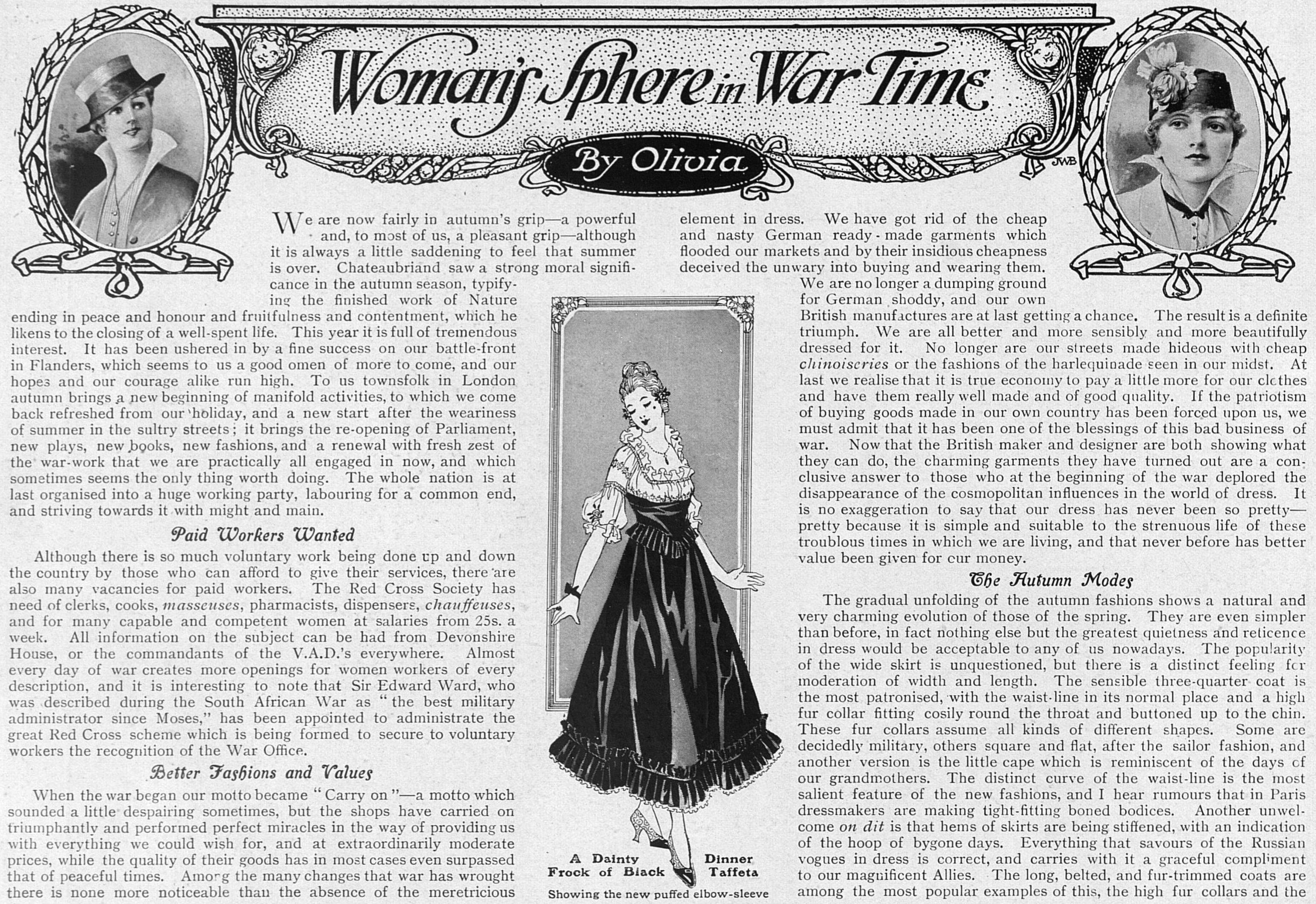 WomansSphereInWarTime_16Oct1915