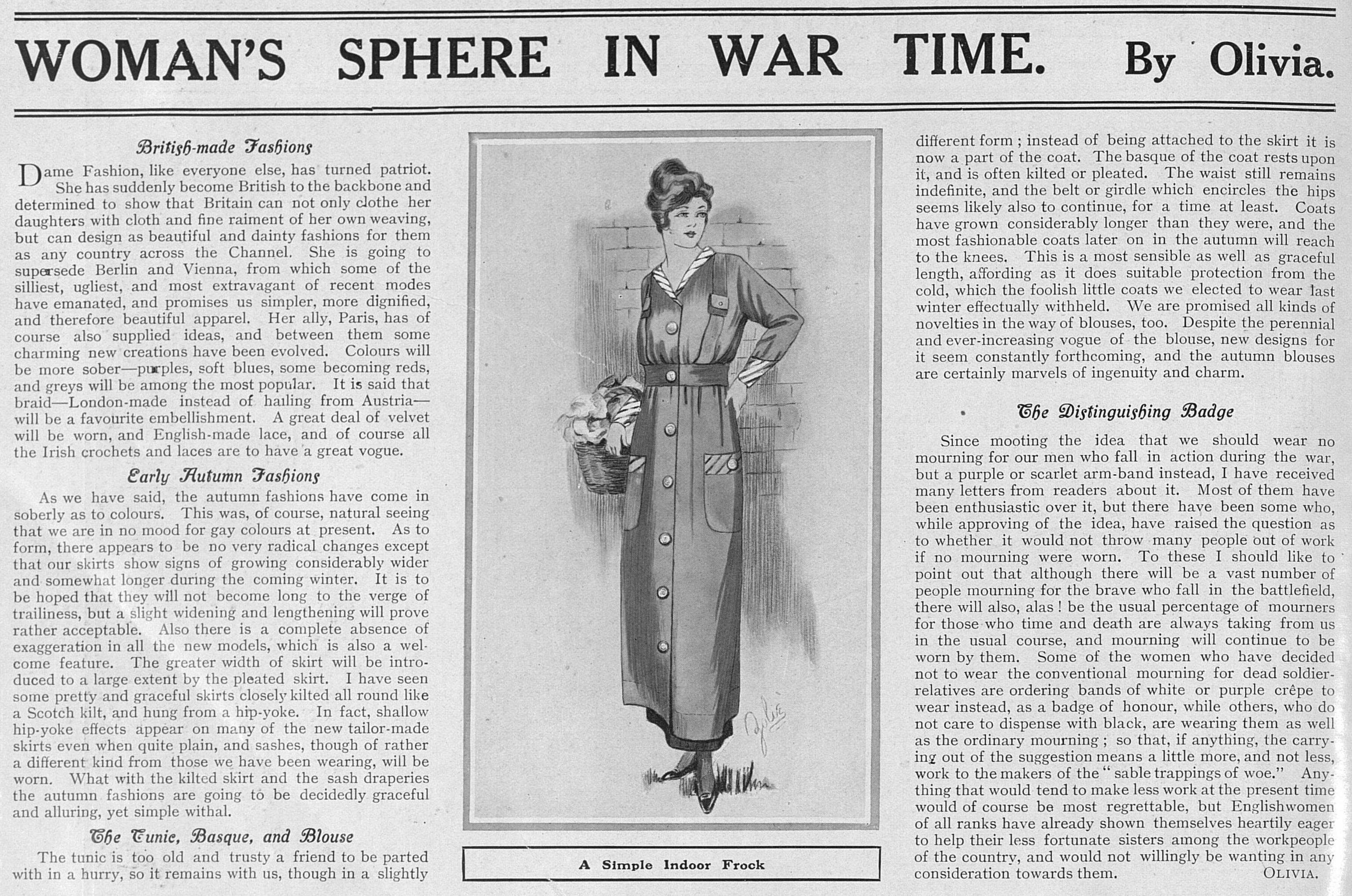 WomansSphereInWarTime_19Sep1914