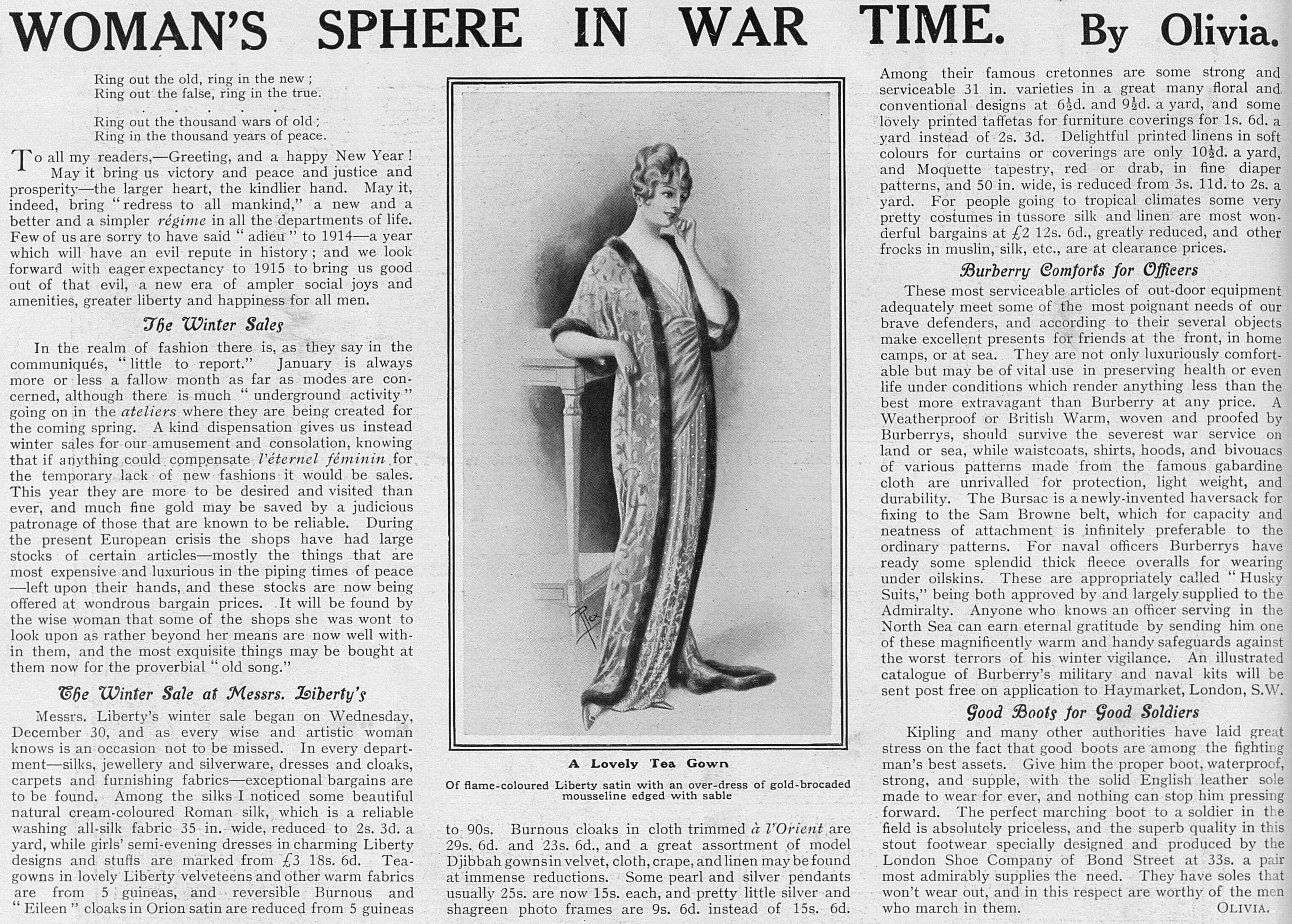 WomansSphereInWarTime_2Jan1915