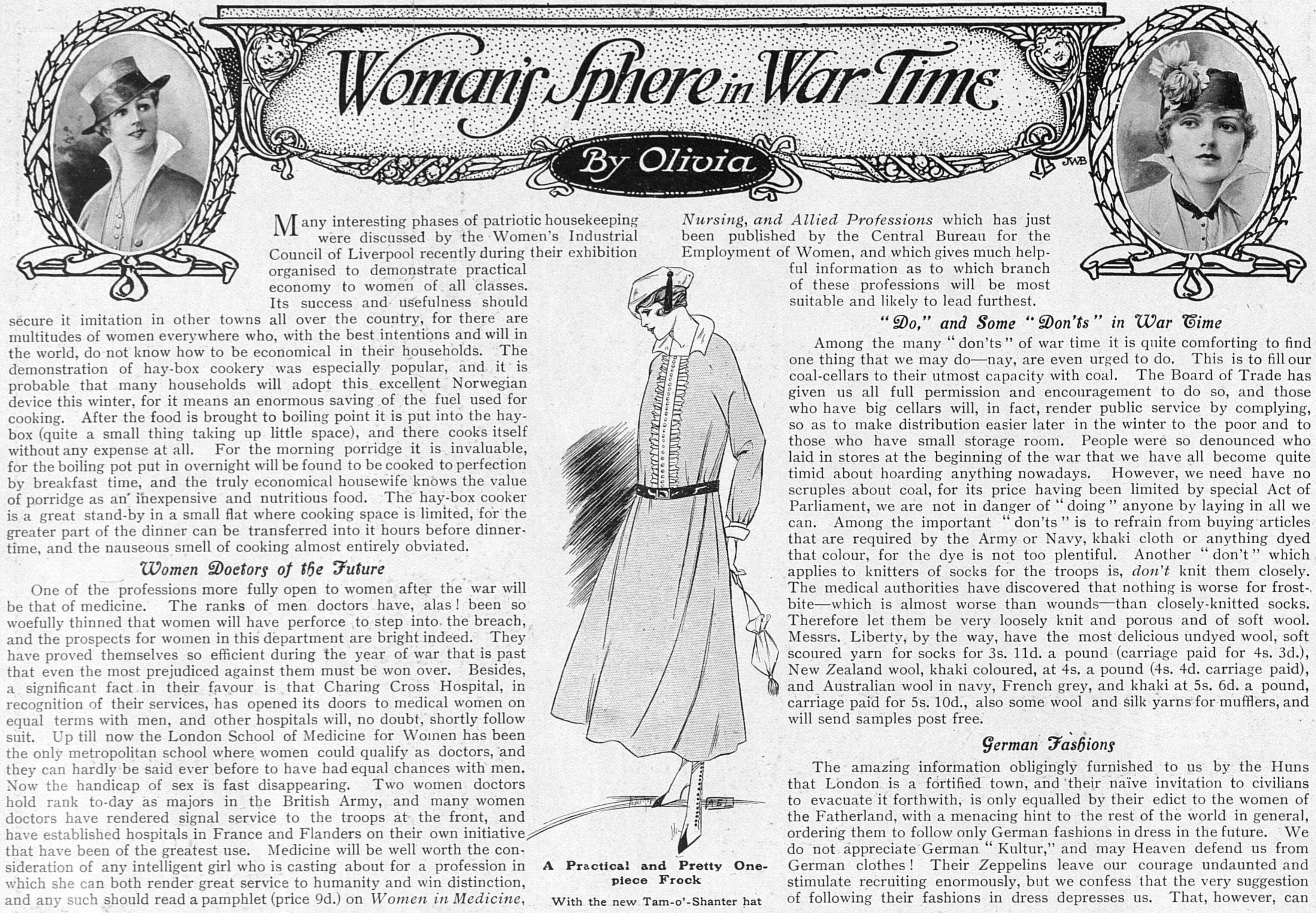 WomansSphereInWarTime_2Oct1915