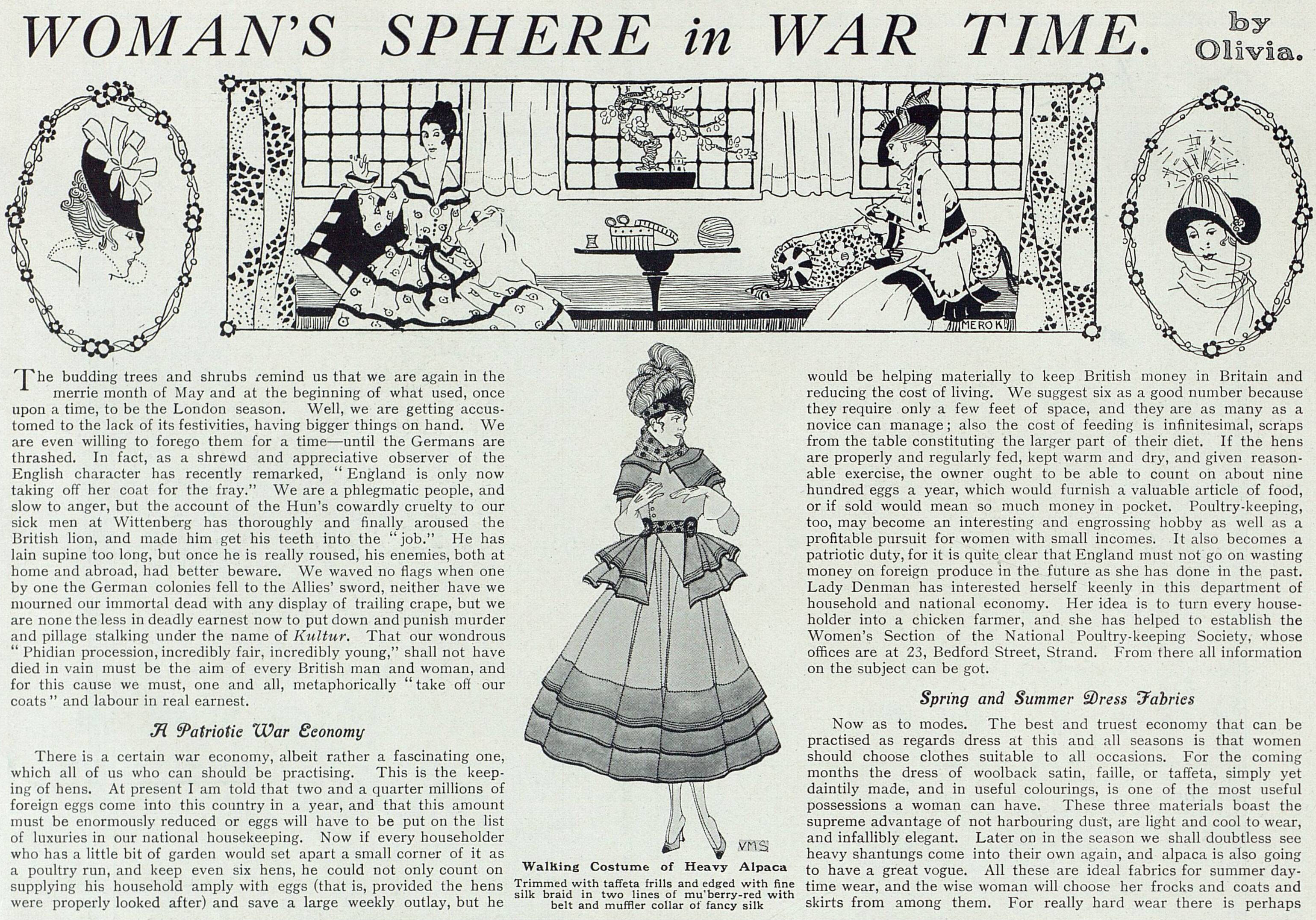 WomansSphereInWarTime_6May1916