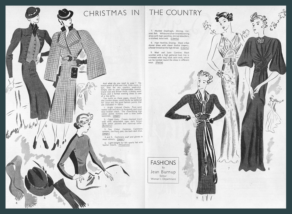 Christmas country fashion