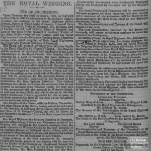 Edward VII's wedding