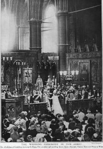 George VI's wedding