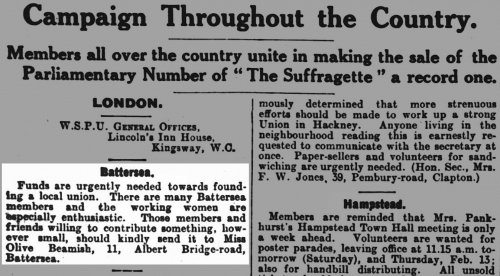 "<a href=""https://www.britishnewspaperarchive.co.uk/viewer/bl/0002188/19130207/091/0012""><em>The Suffragette</em></a>"